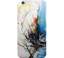 Original Landscape Tree Abstract Painting Modern Contemporary Fine Art  iPhone Case/Skin