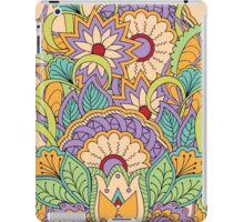 zen floral composition iPad Case/Skin