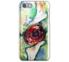 Earth Spirit Abstract Painting Modern Contemporary Fine Art  iPhone Case/Skin