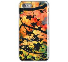 AUTUMN SILOUETT,GREAT SMOKY MOUNTAINS,NP iPhone Case/Skin