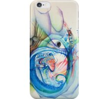"""Openness"" Original Abstract Painting Modern Contemporary Fine Art iPhone Case/Skin"