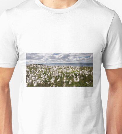 Bog Cotton on Binevenagh Unisex T-Shirt
