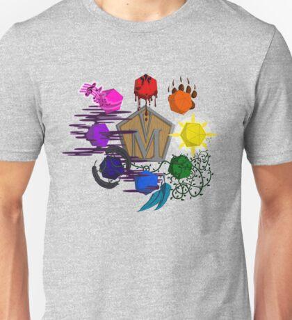 Vox Machina d20s Unisex T-Shirt