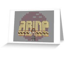 The Big Legowski Greeting Card