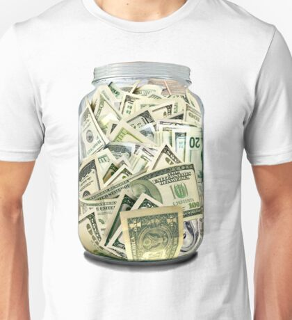 MONEY JAR Unisex T-Shirt