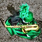 Saxophone and Band Uniform by Susan Savad
