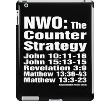 NWO: The Counter Strategy iPad Case/Skin