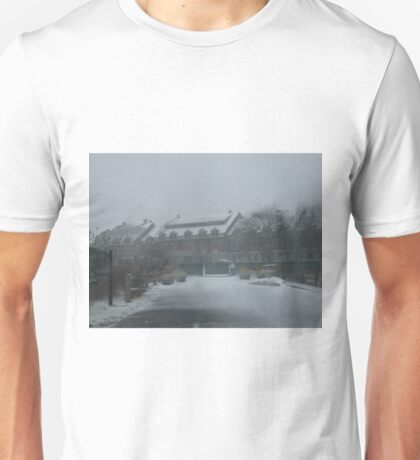 weekapaug inn - snow storm Unisex T-Shirt