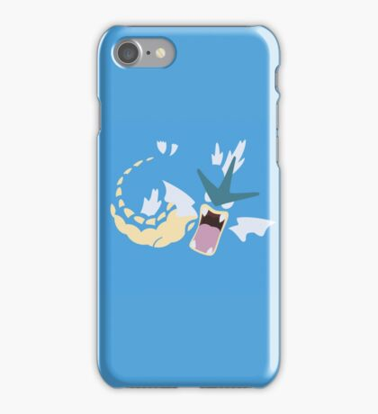 Minimalist Pokemon Gyarados iPhone Case/Skin