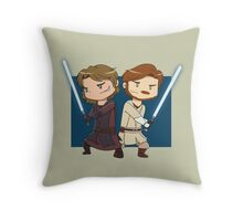 Master and Apprentice Throw Pillow
