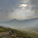 Snowdonia: Light in the Sky from Y Lliwedd by Rob Parsons