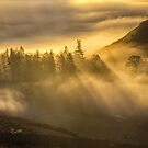 Cloud Inversion and Sun by David Lewins