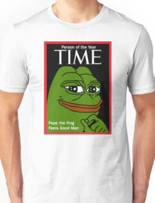 Pepe person of the year Unisex T-Shirt