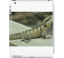 Water Dragon Poser iPad Case/Skin