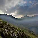 Snowdonia: Light & Mist at Snowdon by Rob Parsons