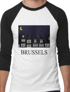 Brussels Grand Place / Grote Markt Men's Baseball ¾ T-Shirt