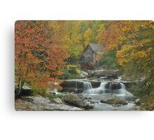 Glade Creek Mill Canvas Print