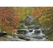 Glade Creek Mill Photographic Print