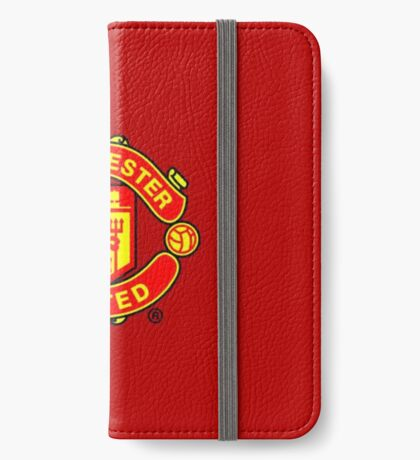 Manchester is red iPhone Wallet/Case/Skin