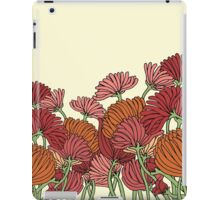 The Retro Garden Flowers iPad Case/Skin