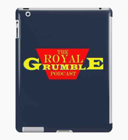 The Royal Grumble Podcast iPad Case/Skin