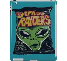 10p Crisps - Space Raiders iPad Case/Skin