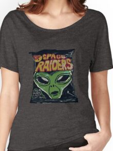 10p Crisps - Space Raiders Women's Relaxed Fit T-Shirt