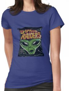 10p Crisps - Space Raiders Womens Fitted T-Shirt