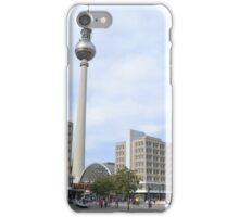 TV tower an Alexanderplatz, Berlin, Germany iPhone Case/Skin
