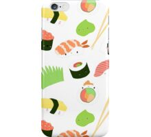 sushi time! iPhone Case/Skin