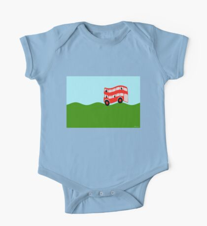 Double Decker bus One Piece - Short Sleeve