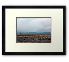 Owl Canyon Framed Print