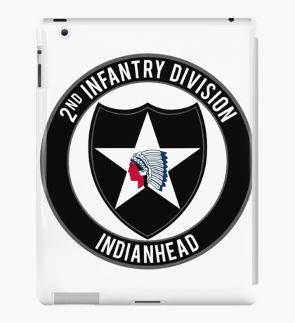 2nd Infantry Indianhead iPad Case/Skin