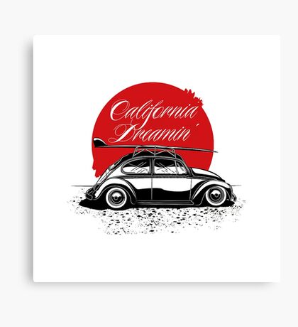 California Dreamin Canvas Print