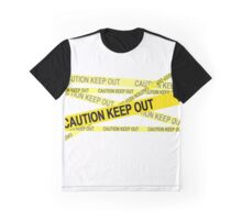 CAUTION - KEEP OUT Graphic T-Shirt