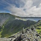 Snowdonia: On Top of Yr Elen by Rob Parsons