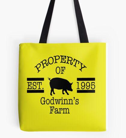 Property of Godwinn's Farm Tote Bag