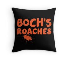 Boch's Roaches Throw Pillow