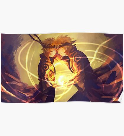 Naruto & Minato Poster