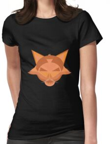 Vector character Womens Fitted T-Shirt