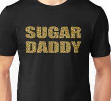 SUGAR DADDY gold glitter design Unisex T-Shirt