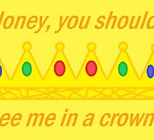 Honey, You Should See Me In A Crown | Sherlock | Yellow by GwenReu