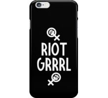 Riot Grrrl iPhone Case/Skin