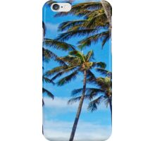 Paia Palm Trees iPhone Case/Skin