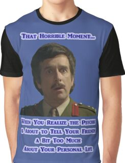 Doctor Who - Brig and the Psychic Graphic T-Shirt