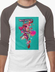 love is difficult Men's Baseball ¾ T-Shirt