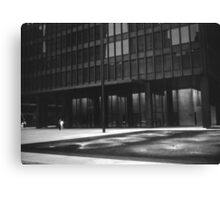 Seagram Plaza (b&w) Canvas Print