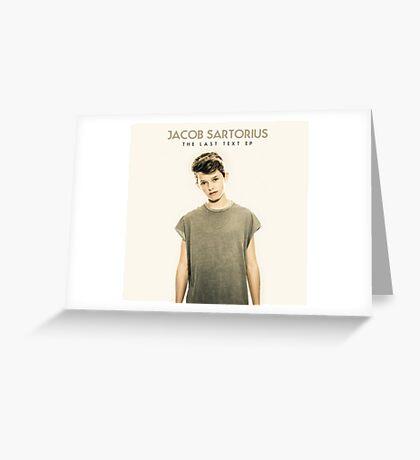 Jacob Sartorius - Last Text EP Greeting Card