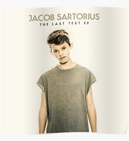 Jacob Sartorius - Last Text EP Poster