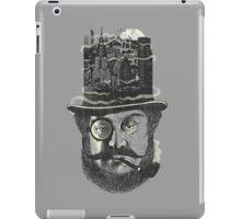 old man hatten iPad Case/Skin
